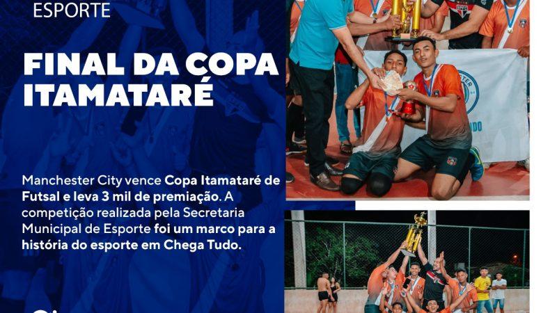 Manchester City é o campeão da Copa Itamataré de Futsal Masculino